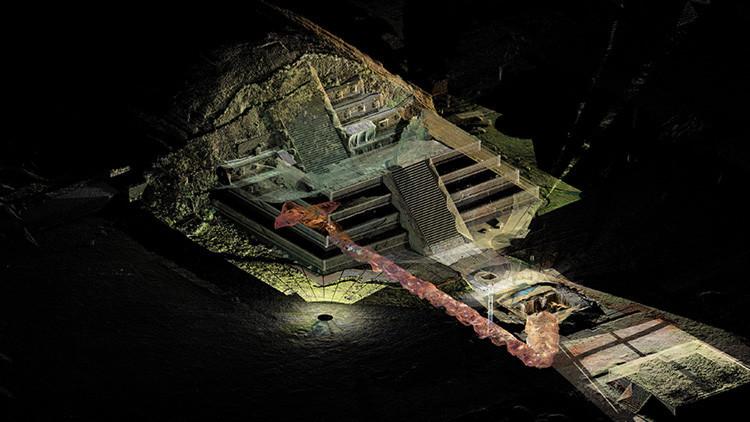 El antiguo túnel que multiplicó los misterios de Teotihuacán (VIDEO)
