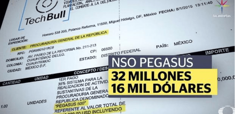 3 cuentas del programa espía Pegasus siguen activas en México, revela Citizen Lab