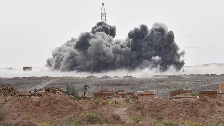 Rusia liquida a más de 200 terroristas del ISIS en Siria