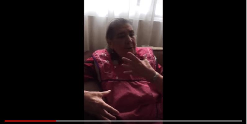"""""""Qué poca madre tienen"""", dice anciana en VIDEO sobre Frida Sofía"""