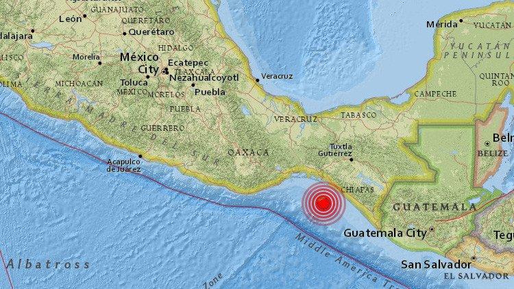 Sismo de 5.8 con epicentro de Tonalá estremece a Chiapas