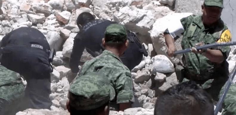 Reportan en Puebla 43 muertos y 105 heridos