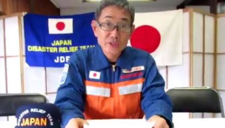 """Brigadistas de Japón se despiden de sus """"cuates"""" mexicanos (VIDEO)"""