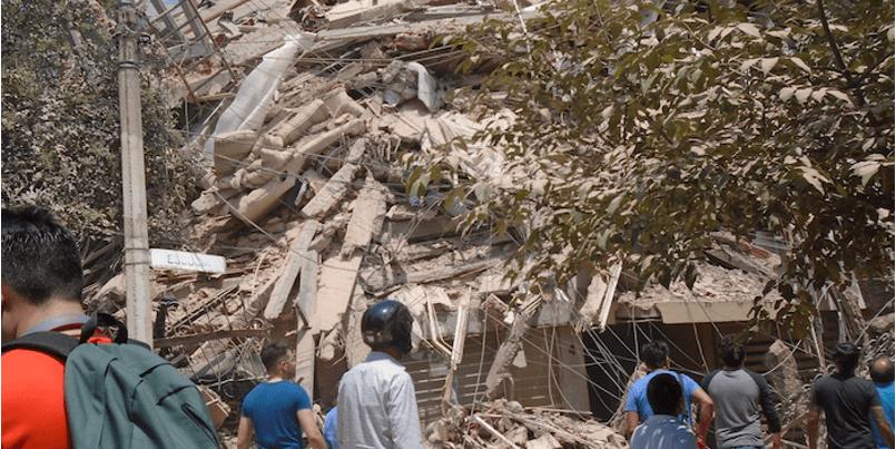 32 años después, tronó la tierra y se desató el terror en la CDMX
