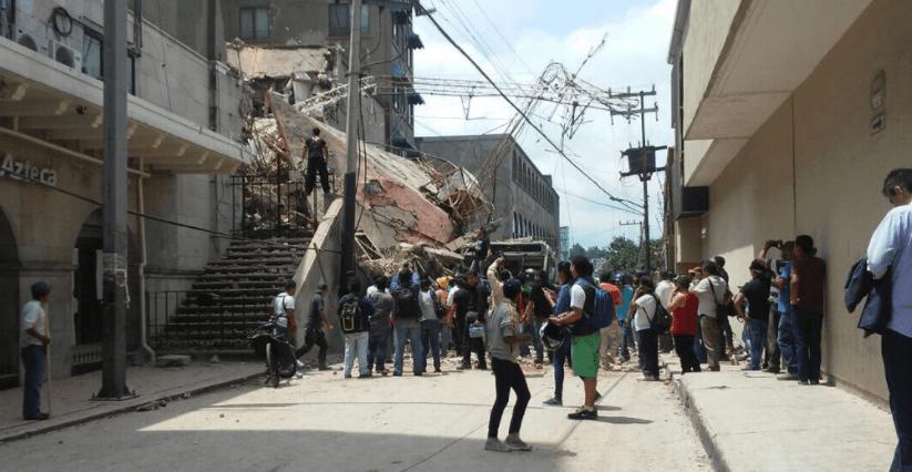 Reportan 55 muertos en Morelos por el sismo de 7.1