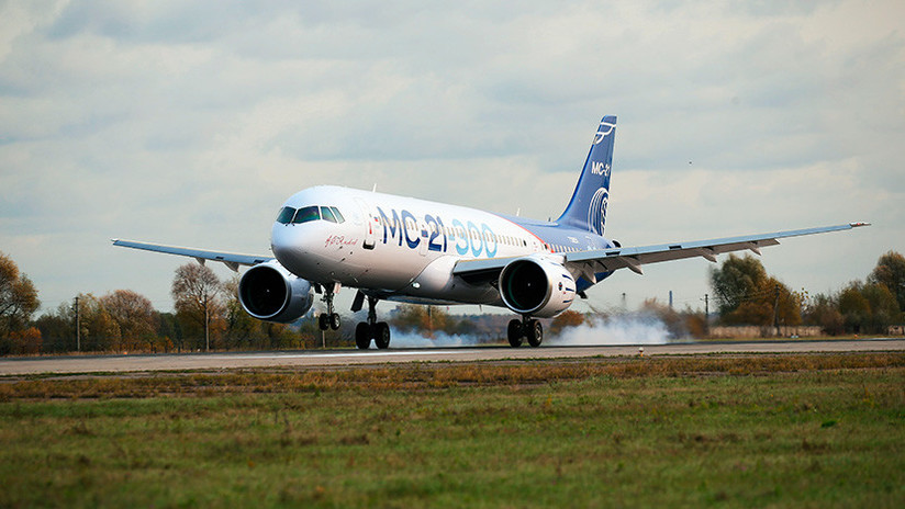 Interjet, interesada en adquirir aviones rusos MS-21