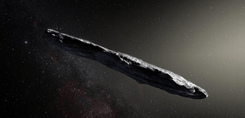 Objeto interestelar sería alienígena, especulan científicos (VIDEOS)