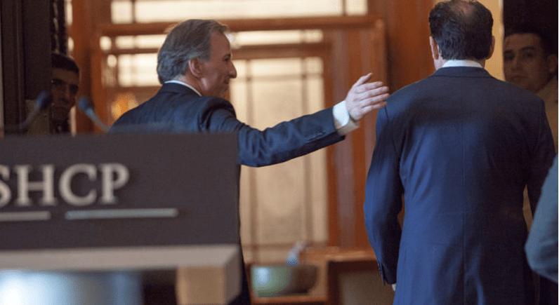 """Videgaray """"destapa"""" a Meade ante el cuerpo diplomático extranjero"""