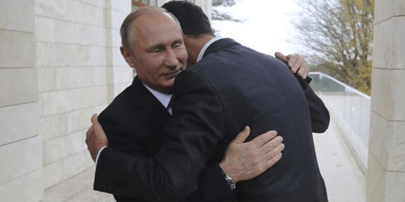 Putin y Assad trazan el futuro político de Siria