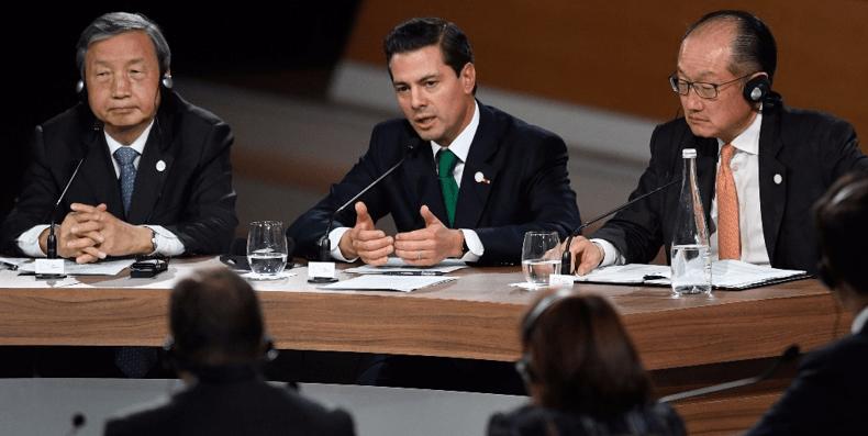 Peña mete a México en el primer mercado de carbono de América
