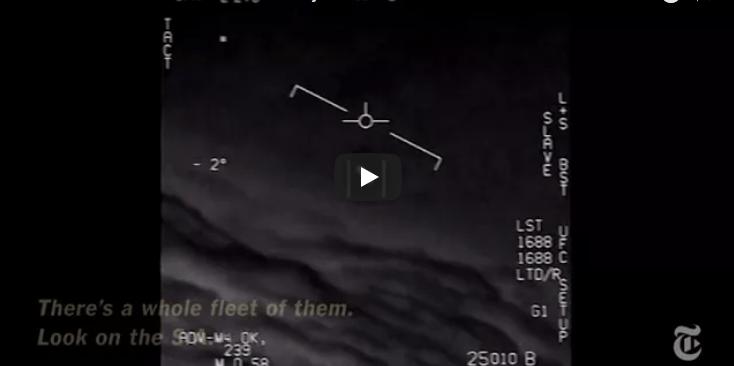 NYT divulga VIDEO de Ovni captado por pilotos de EU