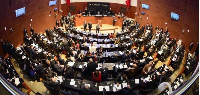 Senado aprueba Ley de Seguridad con votos de PRI y PAN