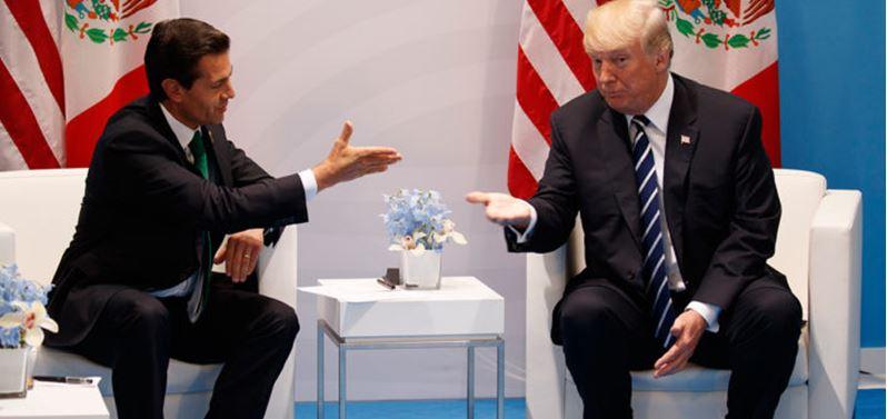 Tras telefonazo, cancelan la reunión pactada entre Trump y Peña