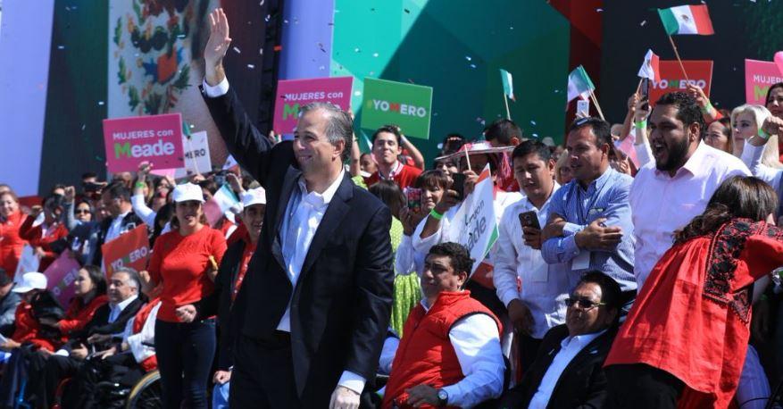 Bajo el mando de Ochoa Reza, el PRI unge a Meade como candidato