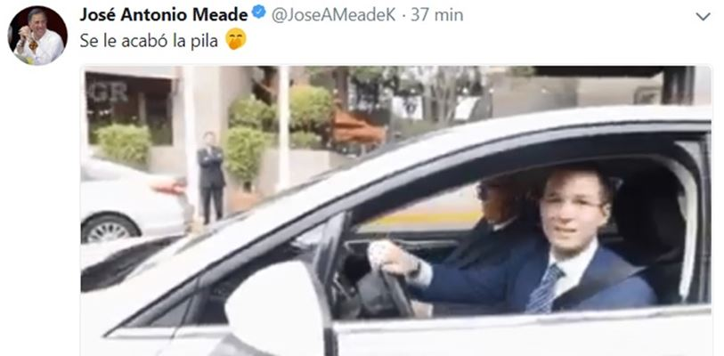Anaya y Meade se baten a tuitazos