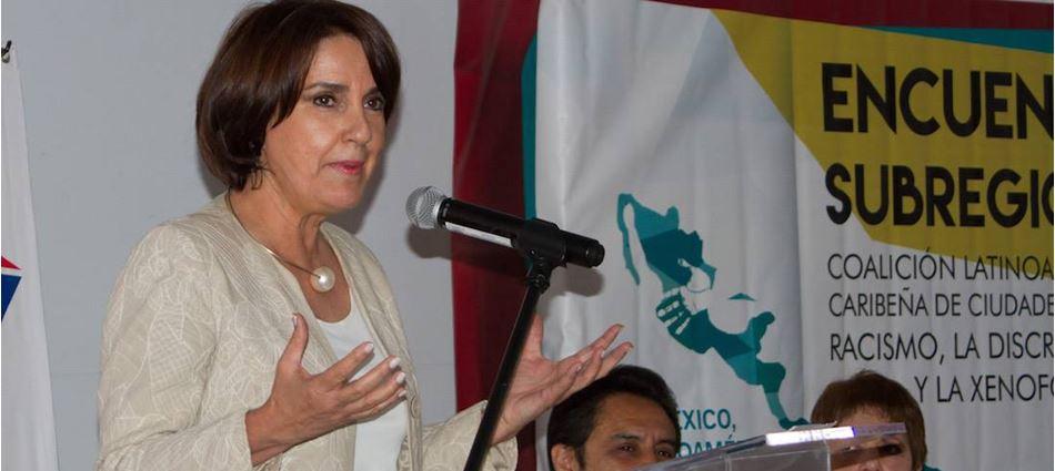 Patricia Mercado deja la CDMX para irse de candidata a senadora por MC