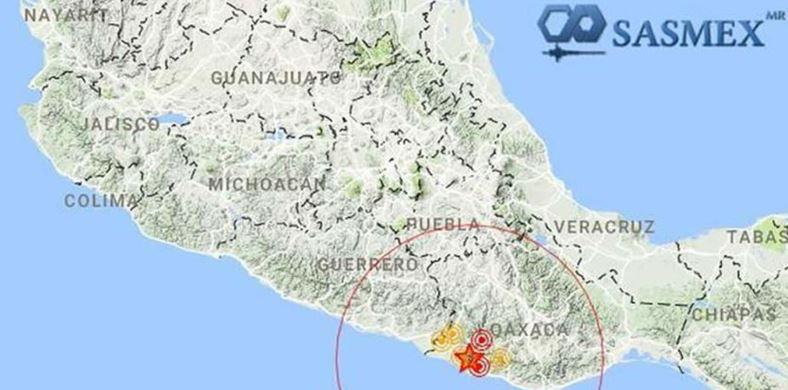 Estremece nuevo sismo; ahora magnitud 6