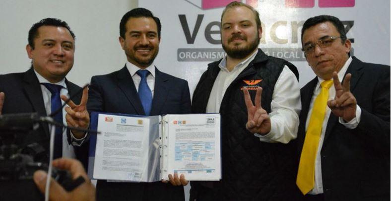 Registran al hijo de Yunes como candidato a gobernador de Veracruz
