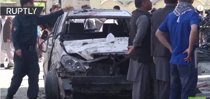 Atentados en Afganistán dejan 58 muertos y 112 heridos