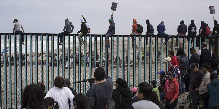 """""""EU no será un campamento de inmigrantes"""": Trump"""