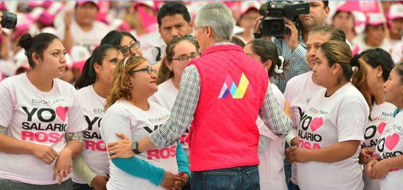 Tribunal exonera a Del Mazo por entrega de tarjetas rosa