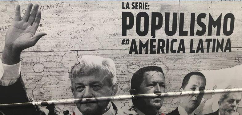 Congelan cuentas por documental 'Populismo en América'
