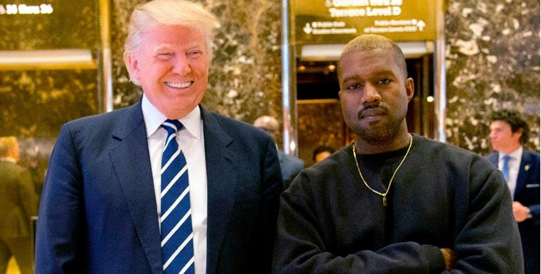 Sorprende apoyo explícito de Kanye West a Trump