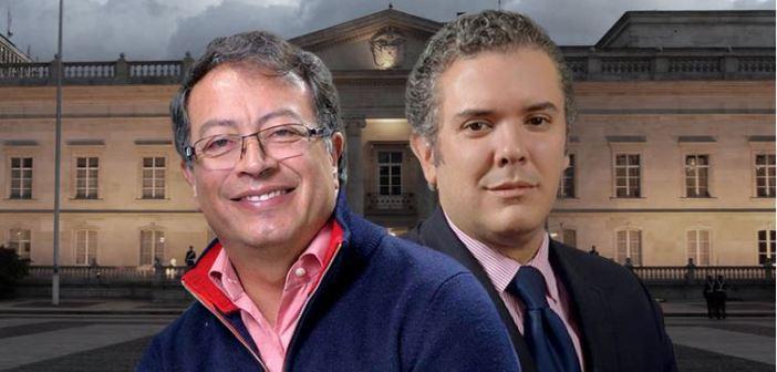 Duque y Petro se van a segunda vuelta en Colombia