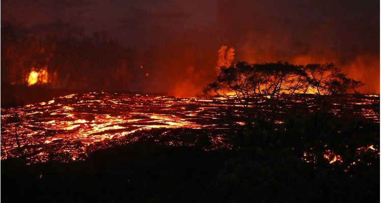 El Kilauea mantiene en vilo a Hawái