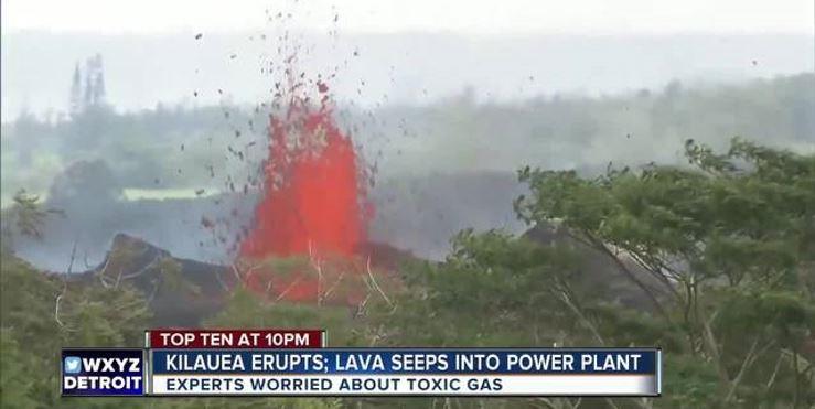 Volcán Kilauea paraliza planta geotérmica en Hawái