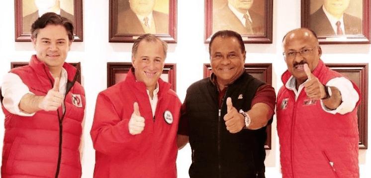Meade no tiene culpa por corruptos del PRI, dice el líder del PRI