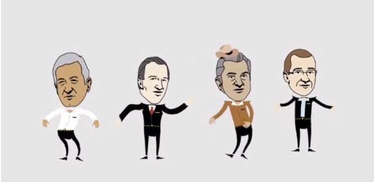 "Sale el remix del debate: ""Ricky Riquín Canallín"" (VIDEO)"