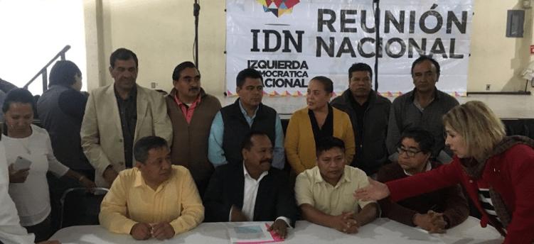 Izquierda Democrática del PRD anuncia que votará por AMLO