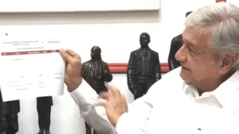 Ilegal e injusta la multa del INE a Morena, responde AMLO (VIDEO)