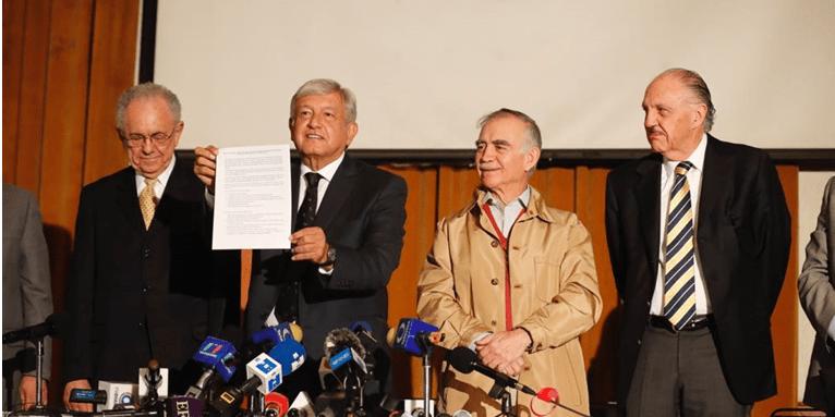 Ratifica AMLO consulta sobre el nuevo aeropuerto de la CDMX