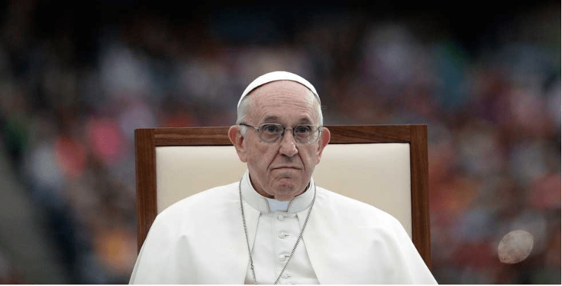 Equipara el Papa pederastia con sacrificios humanos