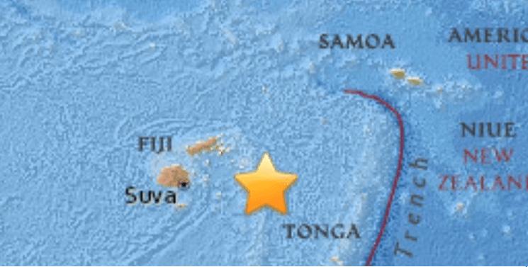 Sismo magnitud 8.2 sacude a Fiji y Tonga