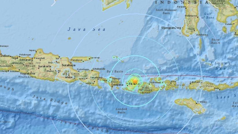 Temblor de 6.3 sacude a Indonesia
