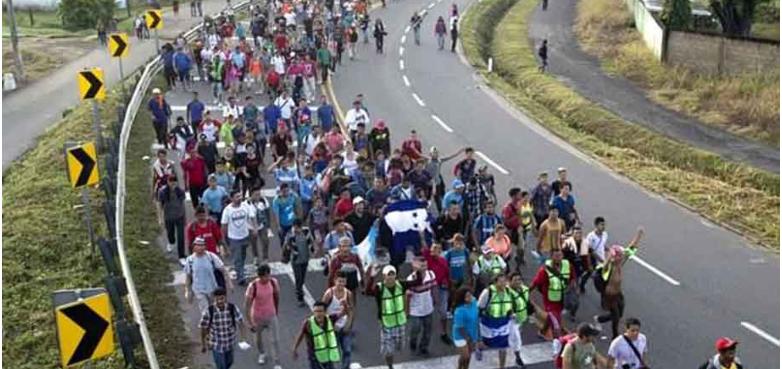 Llegan cinco mil migrantes centroamericanos a Tapachula