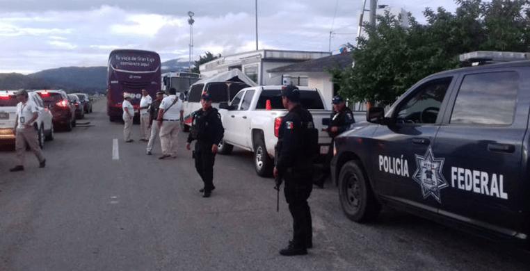 Despliegan operativo para frenar caravana de migrantes hondureños