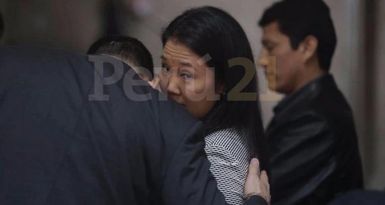 Revocan arresto de Keiko Fujimori por Odebrecht