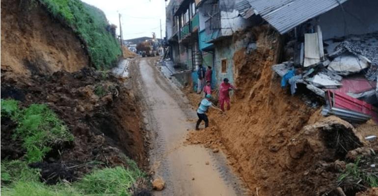 Deslave en San Pedro Ocotepec, Oaxaca, deja 6 personas muertas