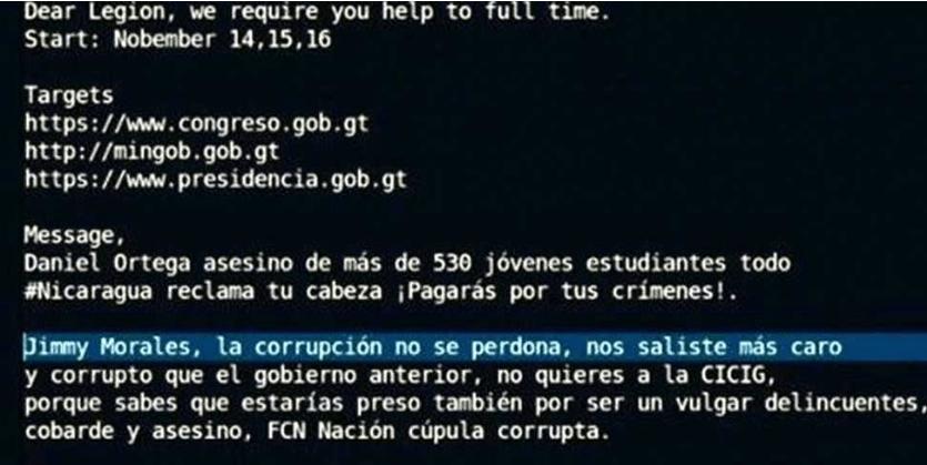 Hackean sitio de la Cumbre Iberoamericana