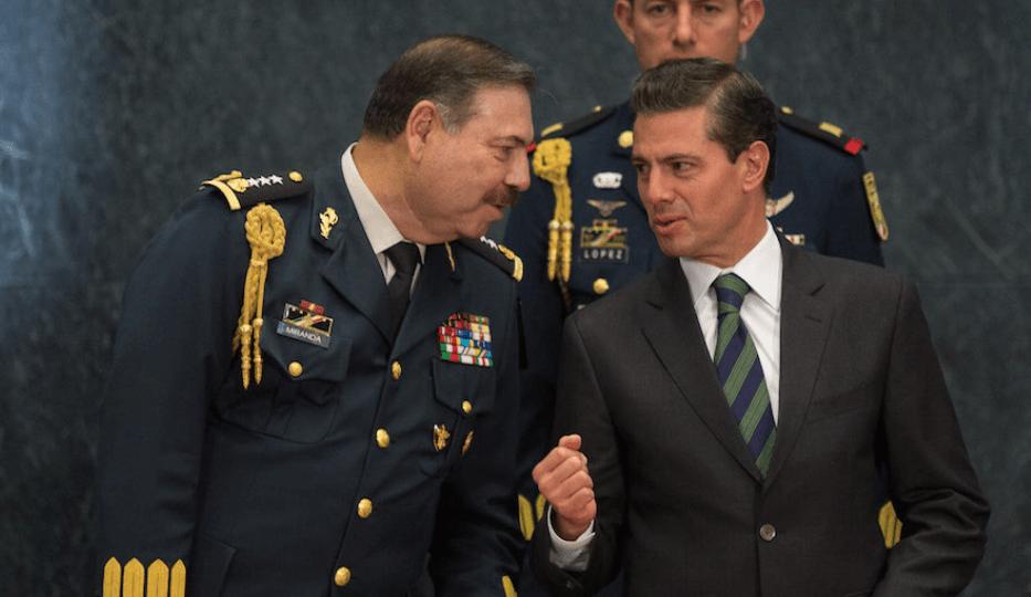 Asesinan al secretario del jefe del Estado Mayor de Peña Nieto