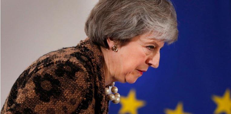 Parlamento británico rechaza plan de May sobre 'Brexit'