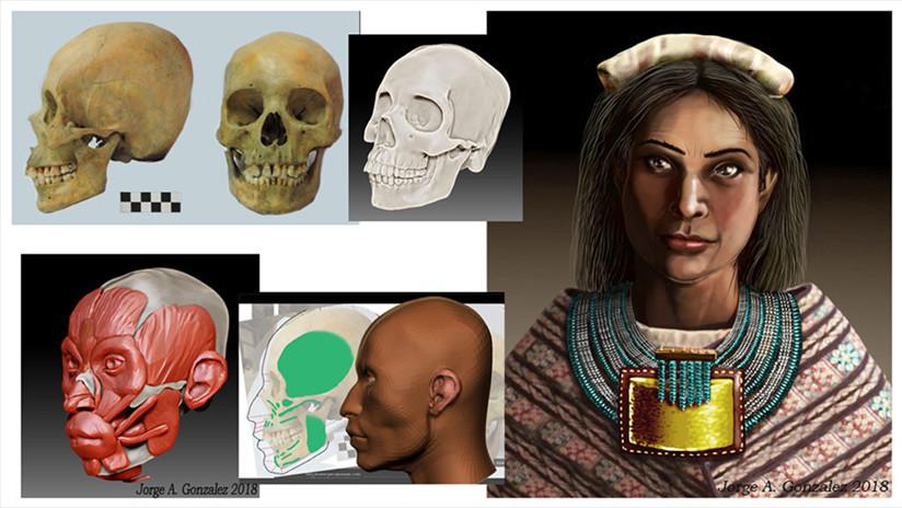 Descubren esqueleto de una notable mujer inca en Argentina