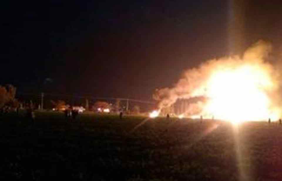 Estalla toma clandestina en Hidalgo: 67 muertos y 76 heridos