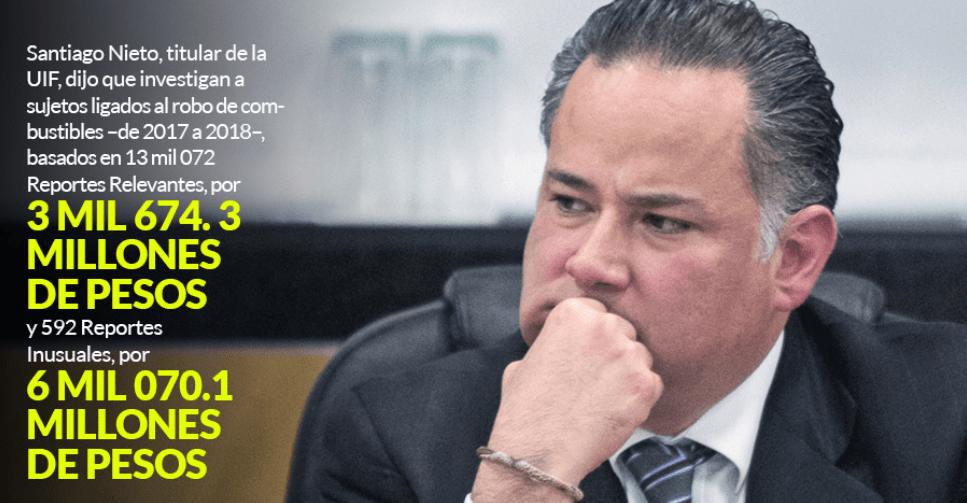 En el combate al huachicol saldrán más políticos ligados: Santiago Nieto