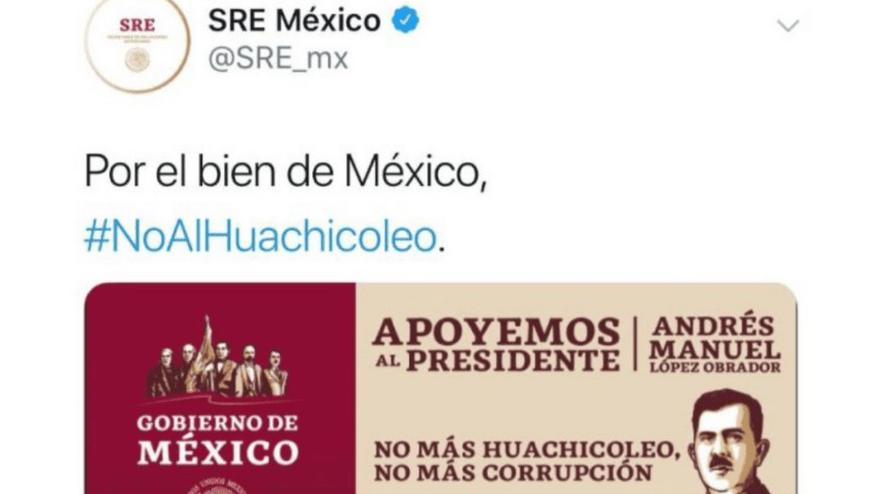 El INE asesta revés al PAN por mensaje de la SRE contra huachicoleo