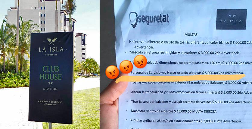Indigna en redes hotel que multa por dejar a niñeras usar albercas